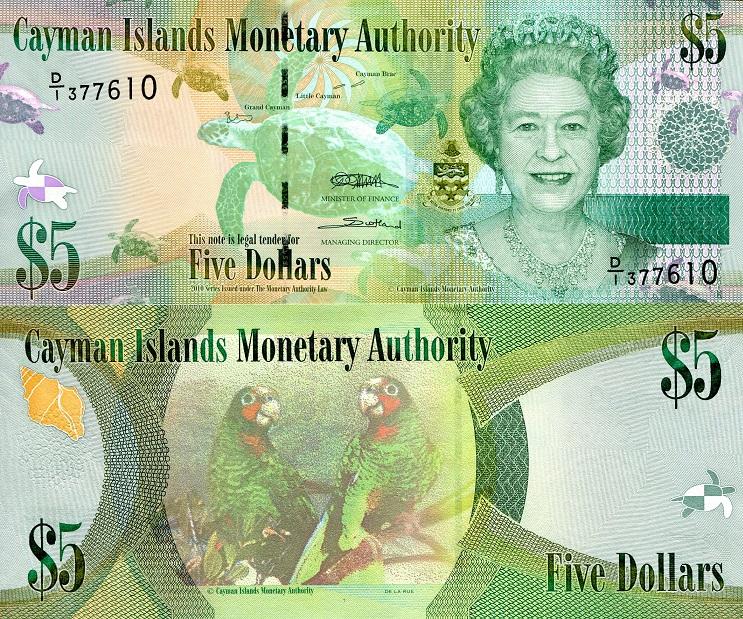 دلار جزایر کایمن